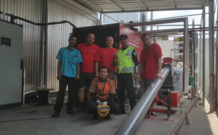2018 kotle FIEDLER v Indonésii (Jakartě)
